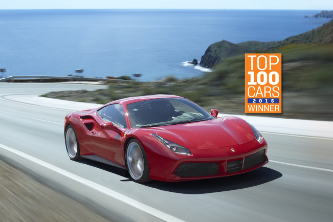 Another Award for The Ferrari 488 GTB