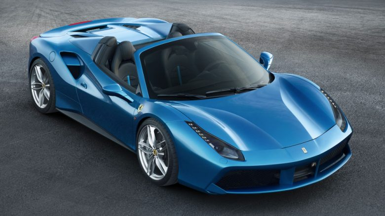 """Ferrari 488 Spider is """"Best convertible car of the year"""""""