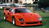 1987 Ferrari F40 Front Angle