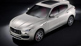 2016 Maserati Levante Front Angle