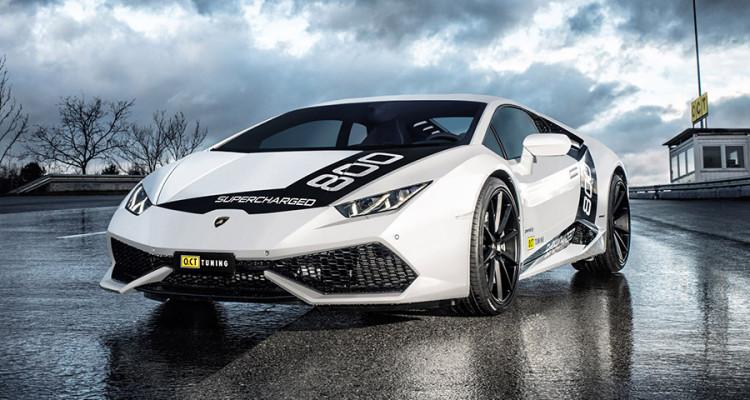 2016 O.CT Tuning Lamborghini Huracan O.CT800 Front Angle