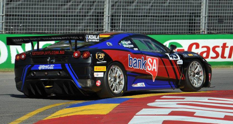 Australian GT – Griguol and Macrow Dominate Invitational Class at Adelaide