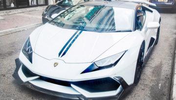 2016 DMC Lamborghini Huracan LP610 Cairo Edition Front Angle