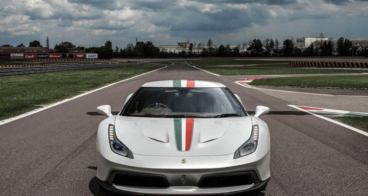 2016 Ferrari 458 MM Speciale Front