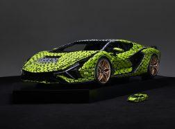Automobili Lamborghini builds dream cars, also with LEGO® Technic™ elements